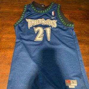 c4dafa493710 Nike Shirts - Minnesota Timberwolves Kevin Garnett Jersey